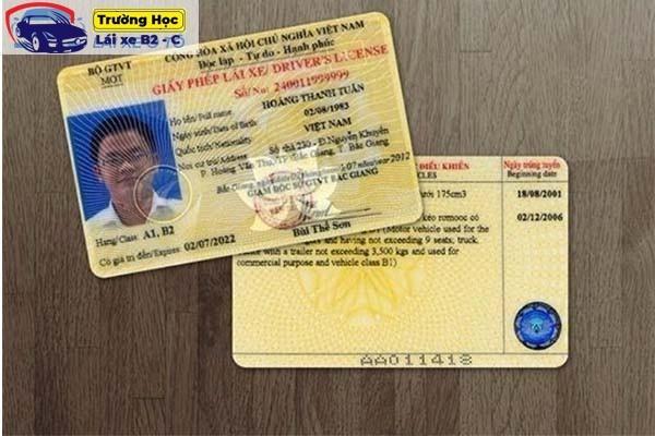 3 cách nhận biết giấy phép lái xe giả đơn giản