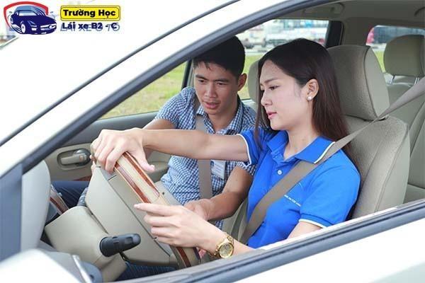 Học bằng lái xe b2 cấp tốc