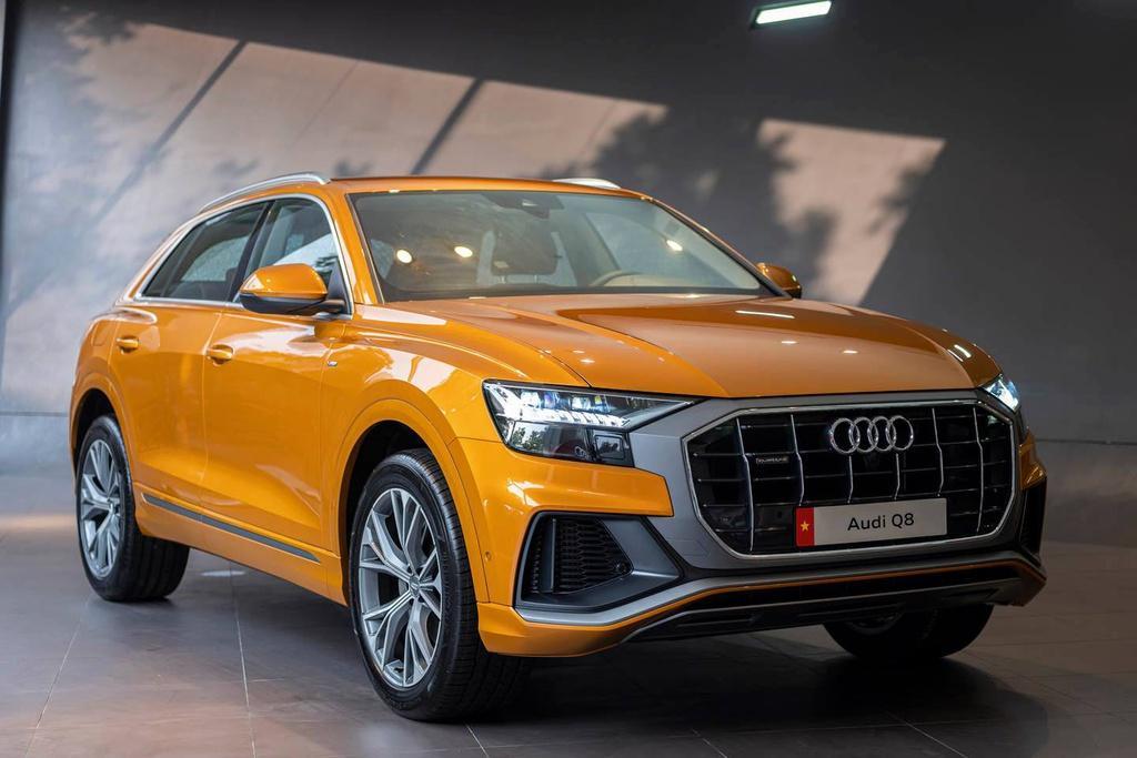Thông tin về chiếc ô tô Audi Q8 tại Việt Nam