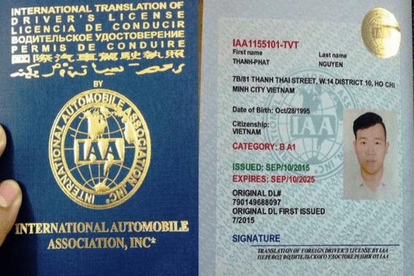 Giấy phép lái xe quốc tế và những điểm cần lưu ý