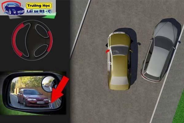 Hướng dẫn các cách đỗ xe và kỹ thuật lùi xe vuông góc