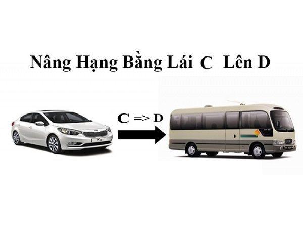 Nâng hạng bằng lái xe ô tô từ C lên D cần chú ý những gì?