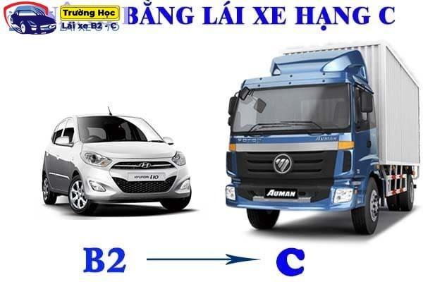 Điều kiện để nâng bằng b2 lên c là gì