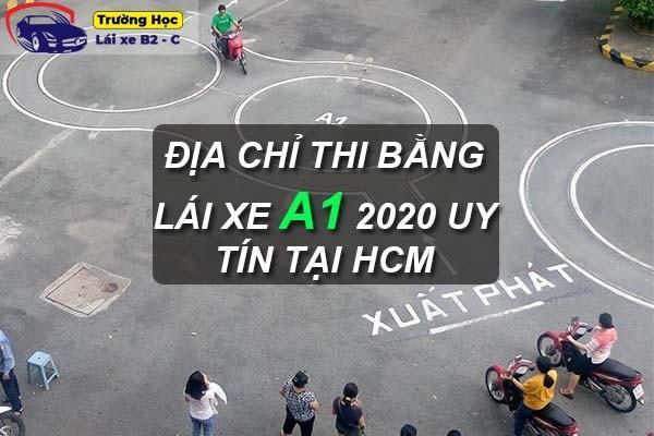 Địa chỉ học thi bằng lái xe A1 2020 - 99% đậu uy tín tại HCM